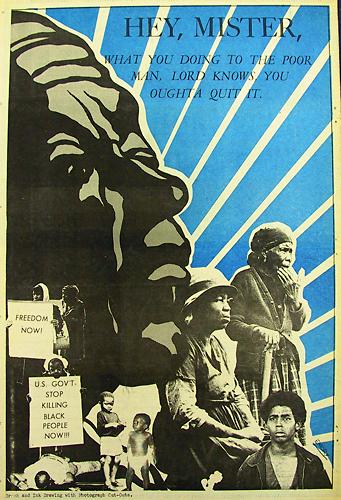 Emory Doublas poster